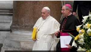 Vicarul Romei este infectat cu noul coronavirus!