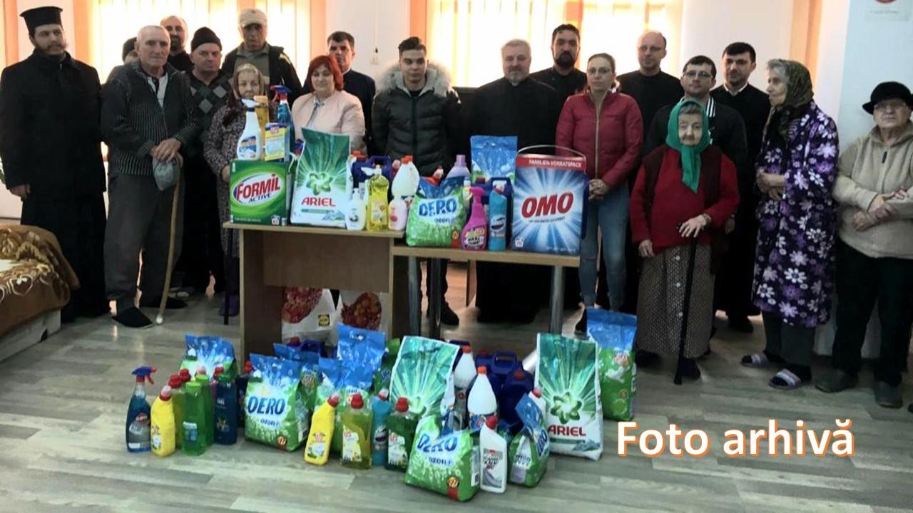 Arhiepiscopia Târgoviștei ajută instituții sociale