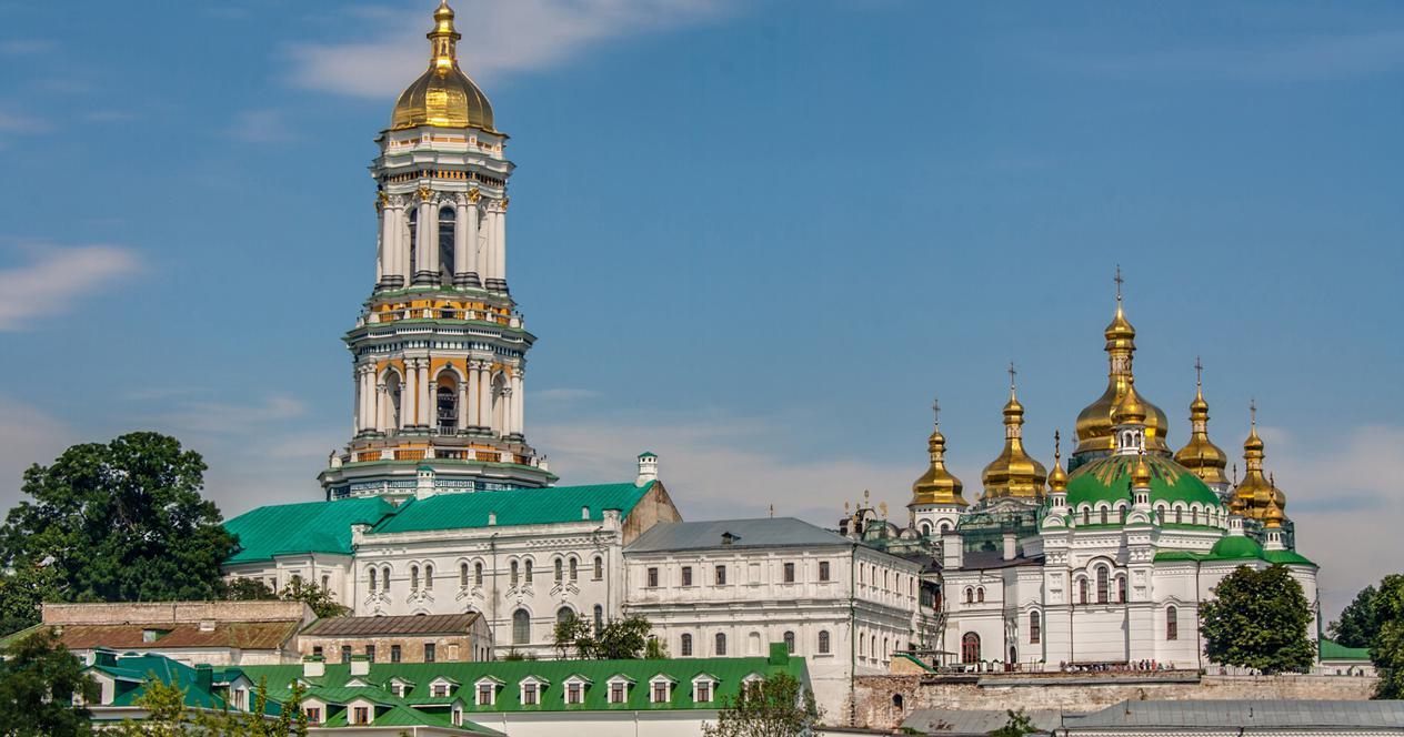Mănăstirea  din Kiev Lavra Pecerska, a devenit un focar de contaminare