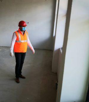 """Primarul Cristian Stan a  vizitat șantierul Școlii Gimnaziale """"Mihai Viteazul"""" din Târgoviște, proiect în valoare de aproape 19.000.000 lei"""