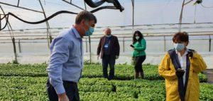 GHEORGHE ȘTEFAN, Secretar de Stat în MADR, mesaj de susținere și apreciere pentru agricultori, după vizita pe care a făcut-o la Băleni-Sârbi