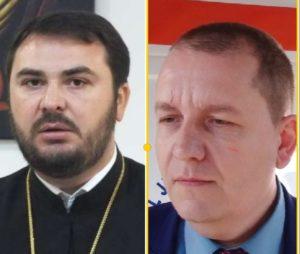 Gest de solidaritate al Vicarului eparhial și al Managerului Spitalului Județean din Târgovişte. Din banii destinați plății unei amenzi cumpără măști pentru medici