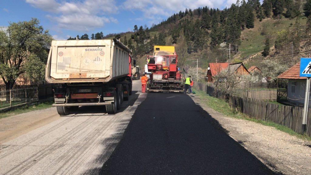Vezi programul lucrărilor la infrastructura rutieră din Județul Dâmbovița, în perioada 5-10 octombrie 2020
