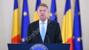 Original Declaratie De Presa Klaus Iohannis