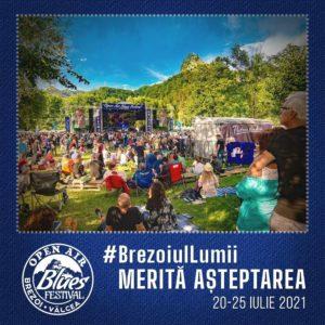 Cea de-a patra ediție a festivalului Open Air Blues Festival Brezoi este amânată pentru iulie 2021