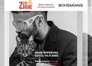 Bohemians se alatură campaniei #Scutpentruspitale a Asociației Zi de Bine!