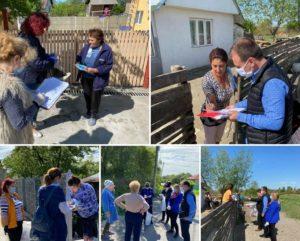 La Răzvad, Primăria a început distribuirea măștilor către populație