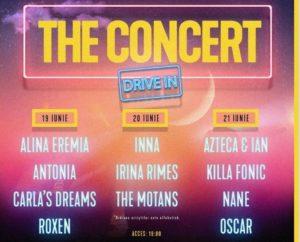 Ce spun INNA, Irina Rimes și The Motans despre  THE CONCERT drive-in?  Cei trei artiști vor urca pe scena de la Romexpo pe 20 iunie