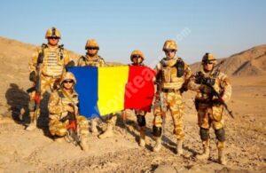 Militarii români din Afganistan sprijină Forțele de Securitate Afgane