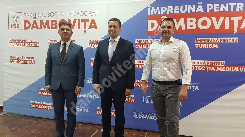 PSD DÂMBOVIȚA SOLICITĂ PNL SĂ ÎNCETEZE ȘANTAJUL LA ADRESA PRIMARILOR SĂI