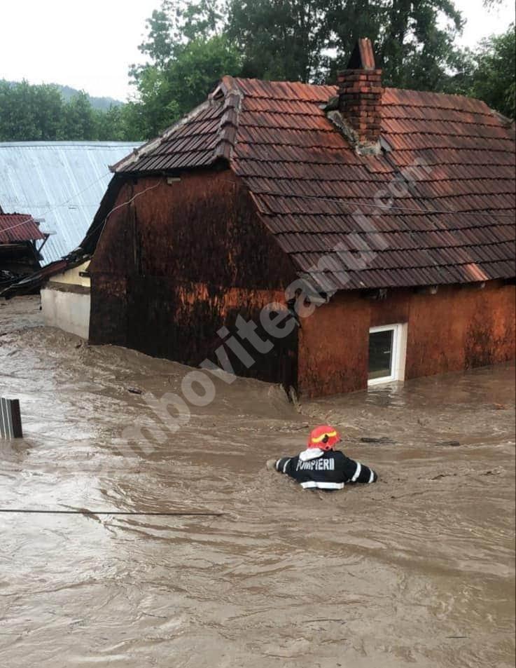 Foto: Ploaia a făcut prăpăd în județul Bihor
