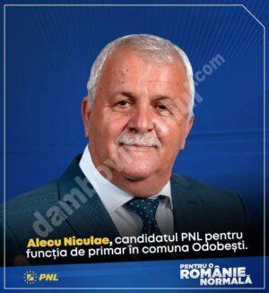 OFICIAL! Primarul comunei Odobești, ALECU Niculae, a părăsit PSD și s-a alăturat echipei PNL!