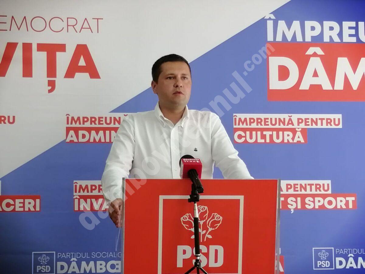 CORNELIU ȘTEFAN (PSD) ACUZĂ PRO ROMÂNIA DÂMBOVIȚA DE BLAT CU PNL ȘI CERE DECENȚĂ