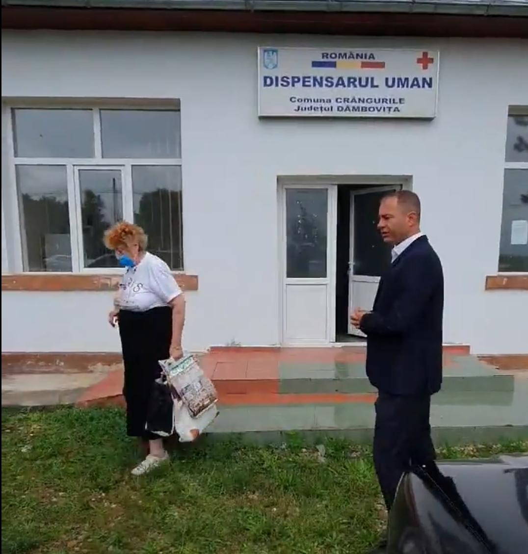 Doctorița de familie din Crângurile, județul Dâmbovița, a decedat!