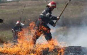 Perioadă de foc pentru ISU DÂMBOVIȚA: Intervenții la peste 40 de incendii, în perioada 22-28 februarie 2021