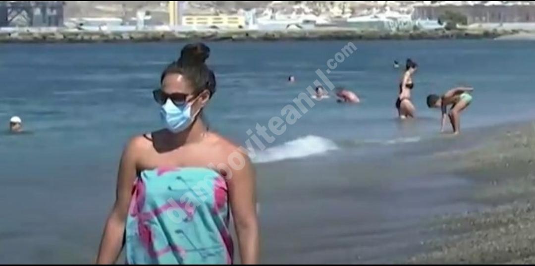 Spania: Masca este obligatorie pe plajă și la piscină