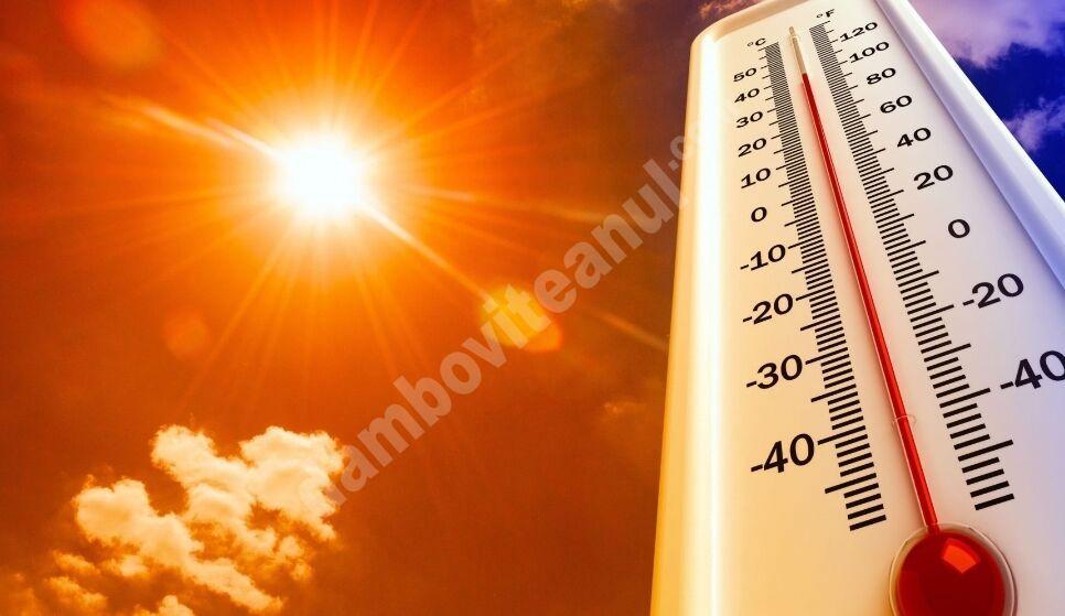 ALERTĂ METEO! Căldură tropicală în ultima zi de iulie!