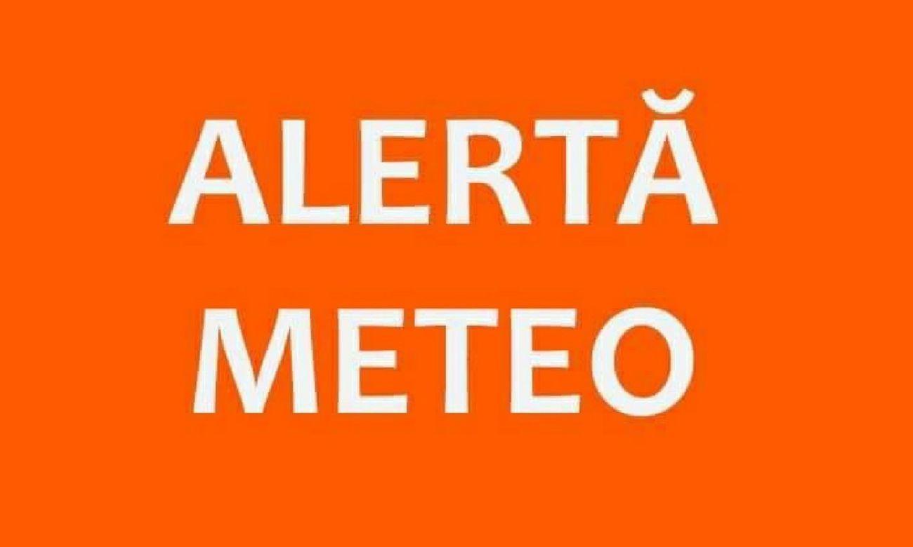 ATENȚIE! Avertizări meteorologice la nivelul județului Dâmbovița!