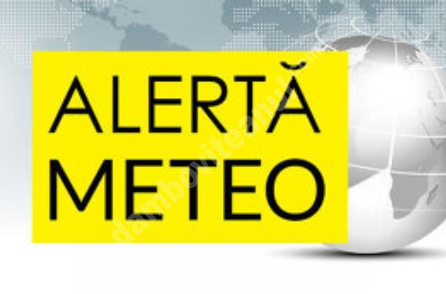 METEO: AVERTIZARE COD GALBEN DE INSTABILITATE ATMOSFERICĂ ÎN JUDEȚUL DÂMBOVIȚA!