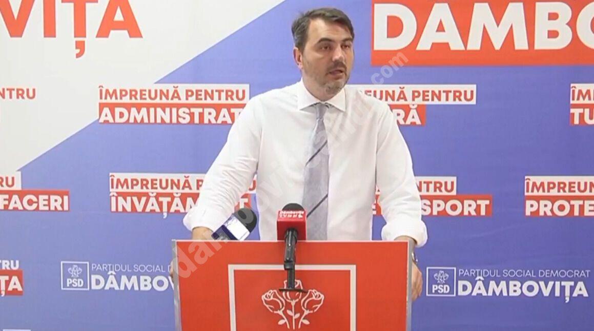 RADU POPA DEMASCĂ NOUA TENTATIVĂ A PREFECTULUI DE DÂMBOVIȚA, AJUTAT DE GARDA DE MEDIU, DE A CONVERTI PRIMARII PSD LA PNL