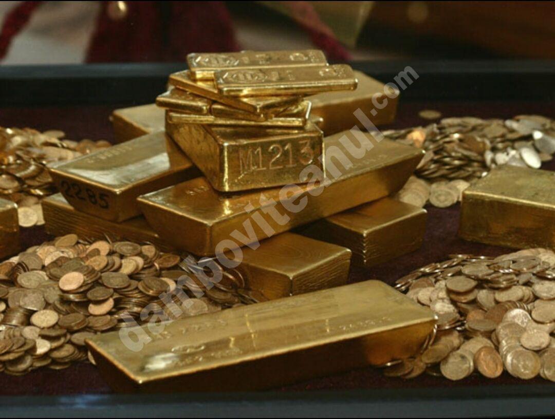 Vezi care sunt primele 10 țări care dețin cea mai mare rezervă de aur
