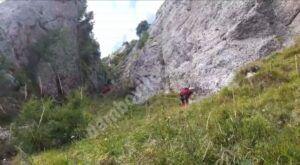 Tânărul dâmbovițean dispărut în Munții Bucegi este de negăsit