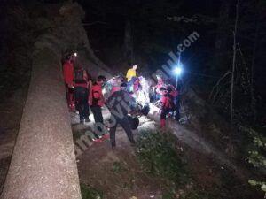 Salvamontiștii au intervenit pentru salvarea a doi bărbați accidentați în Bucegi