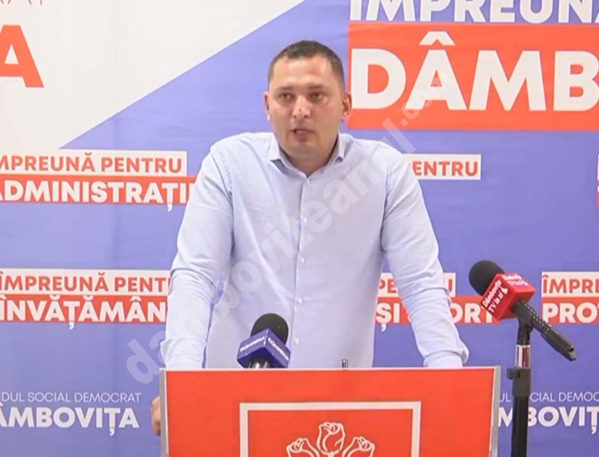TUDORA ANDREI, TSD TÂRGOVIȘTE: VALOAREA DE ACHIZIȚIE A LOCUINȚELOR ANL A FOST MAJORATĂ DE GUVERNUL PNL