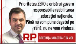 Radu Popa (PSD), mesaj la începutul anului școlar: Deocamdată, e tristețe mare…