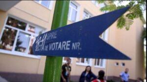 De mâine până marți, se suspendă cursurile în școlile unde există secții de votare