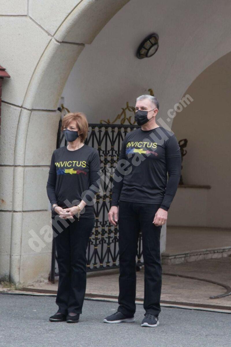 Majestatea Sa Margareta Custodele Coroanei și Alteța Sa Regală Principele Radu au întâmpinat pe militarii Invictus România