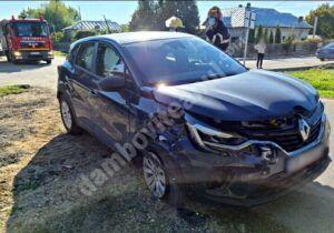 Asigurare de zonă la un accident rutier produs în orașul dâmbovițean Găești