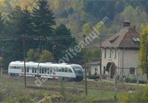 Transportul feroviar se va relua din localitatea Pietroșița! Vezi detalii!