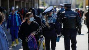 Activități desfășurate de polițiști, în județul Dâmbovița, pentru prevenirea și limitarea infectării cu Sars-CoV-2