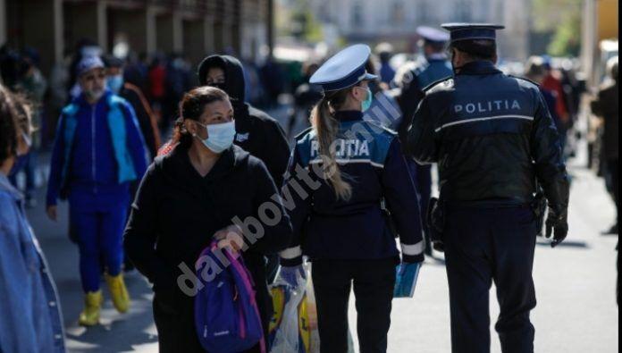 DÂMBOVIȚA: CONTROALE DE AMPLOARE PENTRU RESPECTAREA RESTRICȚIILOR COVID-19!