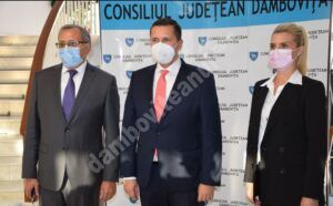 DÂMBOVIȚA: Luciana Cristea și Antonel Jîjîie au fost aleși vicepreședinți ai Consiliului Județean