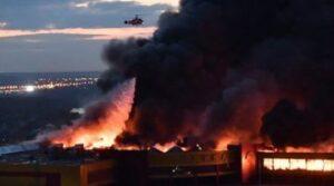 Incendiu la un principal centru pentru tratarea pacienţilor COVID-19, din Moscova