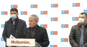 Dacian Cioloș: USR-PLUS este gata să intre la guvernare alături de PNL și UDMR