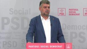 Read more about the article Marcel Ciolacu transmite că PSD nu va susține un guvern minoritar PNL