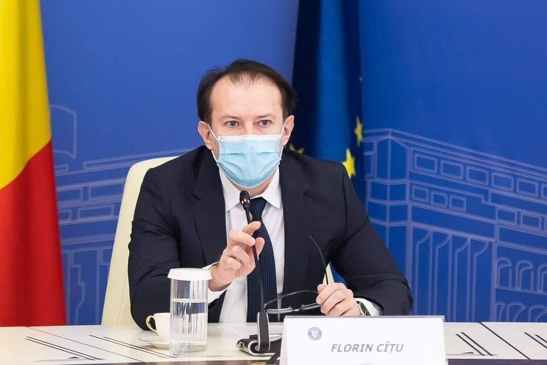 Cîțu: Am solicitat ca România să beneficieze de încă opt milioane de doze de vaccin Pfizer din cele negociate suplimentar la nivel european