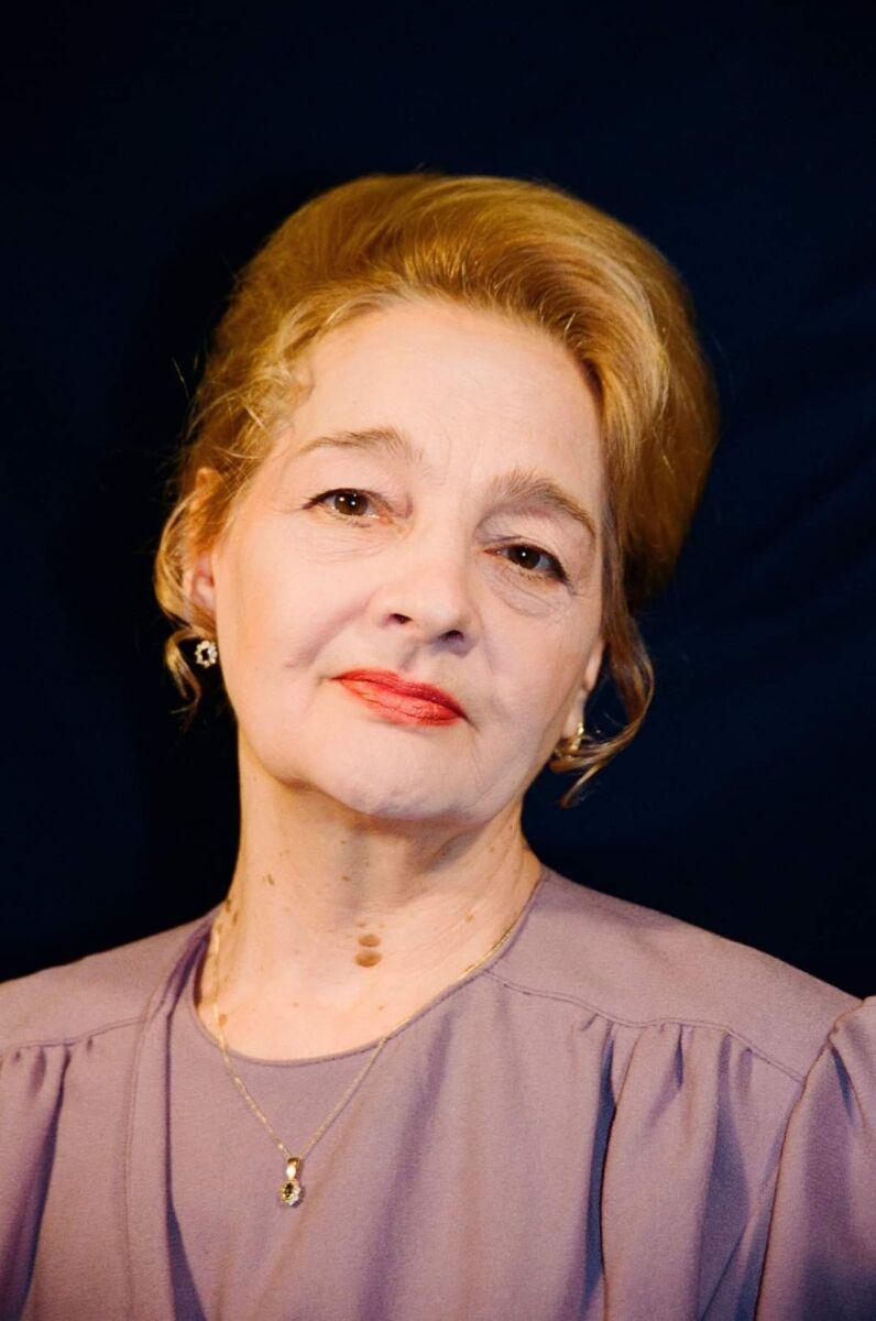 A murit actriţa Georgeta Luchian Tudor, soţia lui Tudor Gheorghe