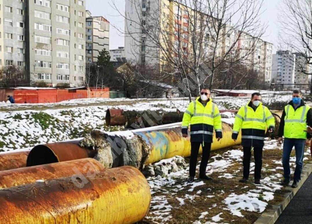 Modernizarea municipiului Târgoviște continuă! A debutat dezafectarea fostelor rețele ale transportului de agent termic!