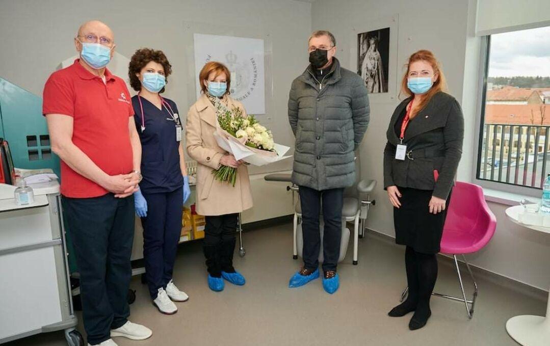 Custodele Coroanei Române, Margareta, şi Principele Radu, s-au vaccinat împotriva SARS Cov-2