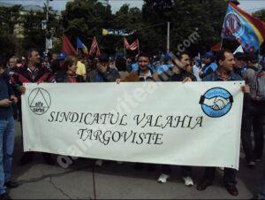 Angajații COS Târgoviște se pregatesc de proteste