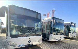 Primarul Cristian Stan anunță că 10 autobuze Mercedes-Benz, destinate Primăriei Municipiului Târgoviște, au ajuns în România!