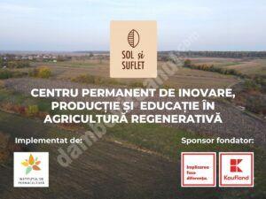 Kaufland România a investit 150.000 de euro într-o fermă regenerativă, în judeţul Dâmboviţa