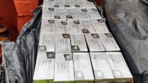 Peste 7000 mii de pachete cu ţigări de contrabandă, descoperite la bordul unei nave în Portul Constanţa