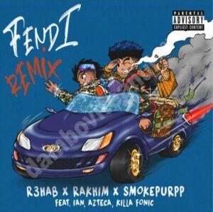 Ian, Azteca și Killa Fonic prezintă o nouă versiune a hit-ului FENDI, împreună cu R3HAB, Rakhim și Smokepurpp