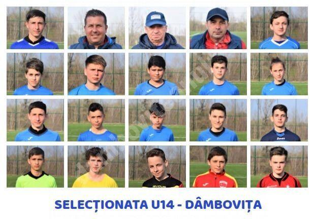 Selecționata U14 a județului Dâmbovița debutează la Turneul Speranțelor. Vezi componența lotului de jucători