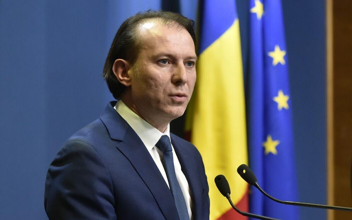 Florin Cîțu: Am reuşit să stabilizăm economia şi să reducem la maximum impactul crizei asupra economiei noastre